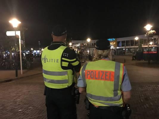 De politie Zeeland werkt in Renesse samen met Duitse collega's.