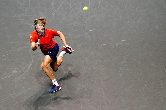Pas de changement pour David Goffin au classement ATP.