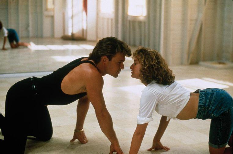 De Jeugd van Tegenwoordig verzorgt deze week de filmprogrammering. Beeld still uit Dirty Dancing