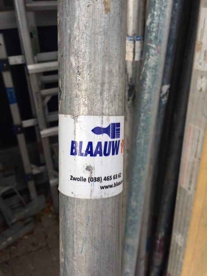 Enkele steigers van Blaauw Perioverf.