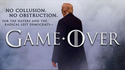 """Langverwachte rapport-Mueller vrijgegeven: """"Geen collusie"""" tussen Trump en Russen, wel tien """"episodes"""" van mogelijke belemmering onderzoek"""