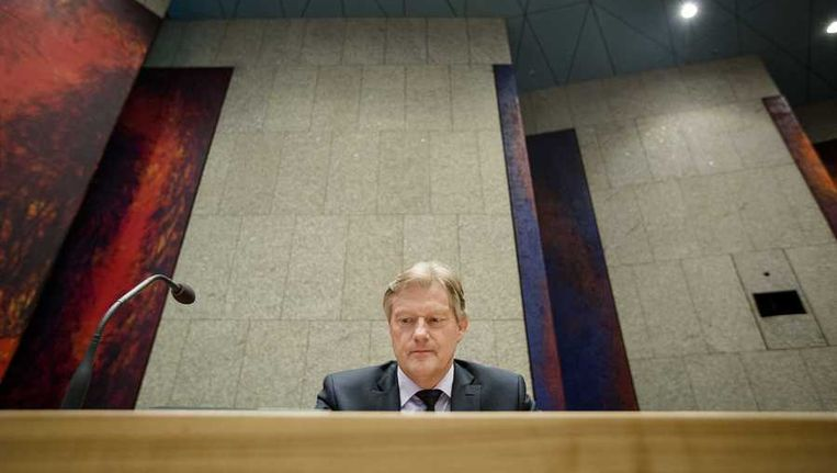 Staatsecretaris Martin van Rijn (Volksgezondheid) Beeld anp