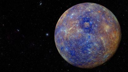 Satellieten moeten geheimen van Mercurius ontrafelen