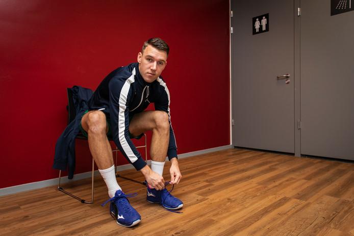 Olav van Wijngaarden is op tijd fit voor het WK in Zuid-Afrika.