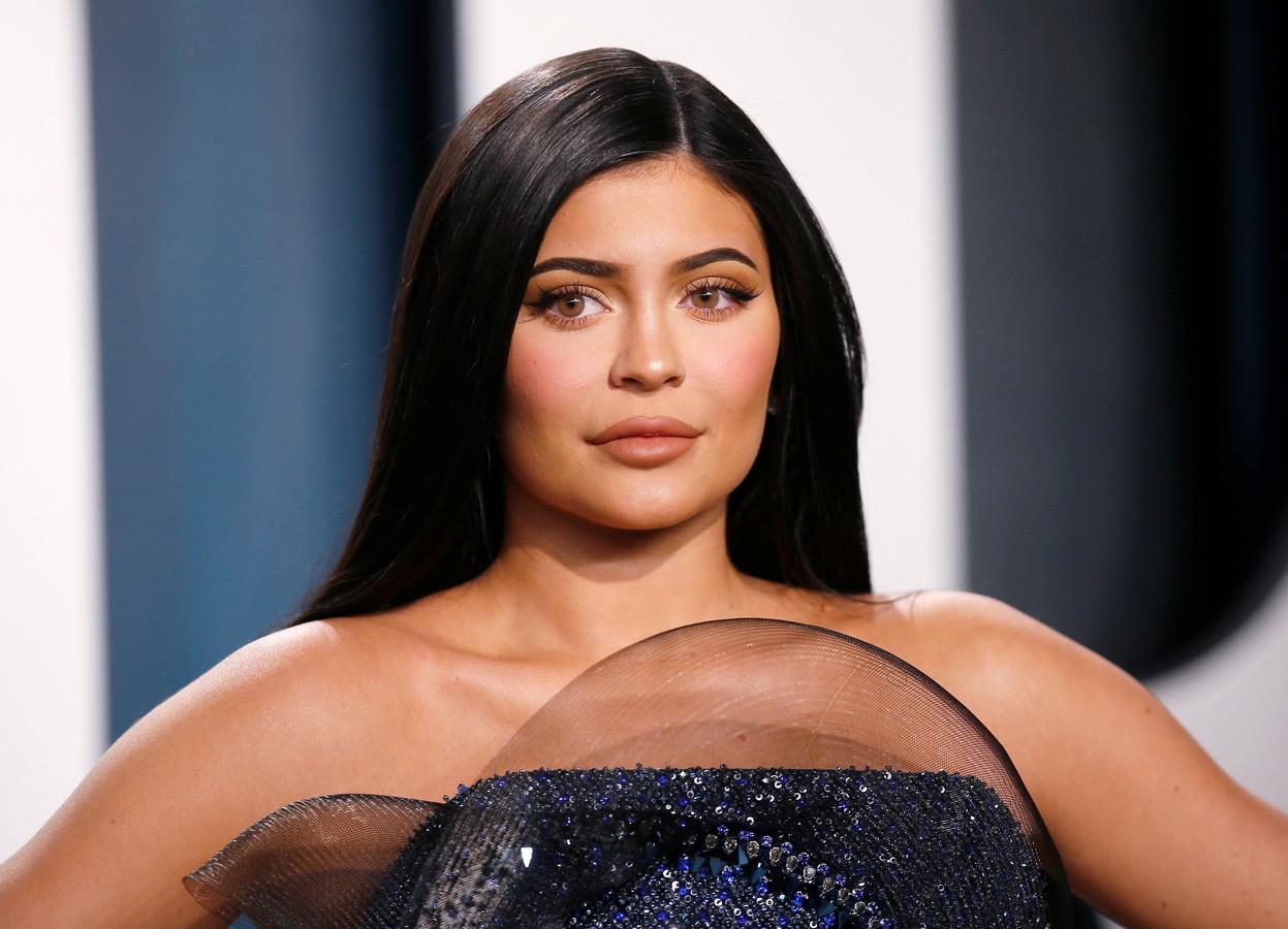 Kylie Jenner bij een van de Oscarfeestjes in februari van dit jaar.