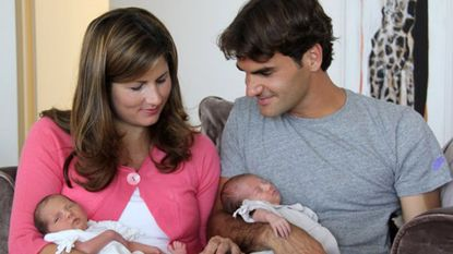 """""""Mirakel"""" ten huize Federer: weer een tweeling, nu jongetjes"""