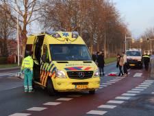 Fietsster gewond na aanrijding met bestelbusje in Goes