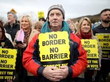 EU: Johnson stuurt aan op harde grens Ierland