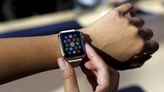 De Apple Watch.