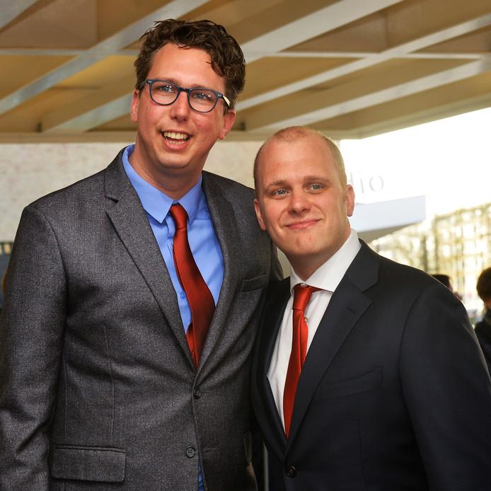 Joris Bengevoord (rechts) gaat met levenspartner Arijan van Bavel, ook bekend als Adje,  in Winterswijk wonen, waar hij burgemeester is geworden.