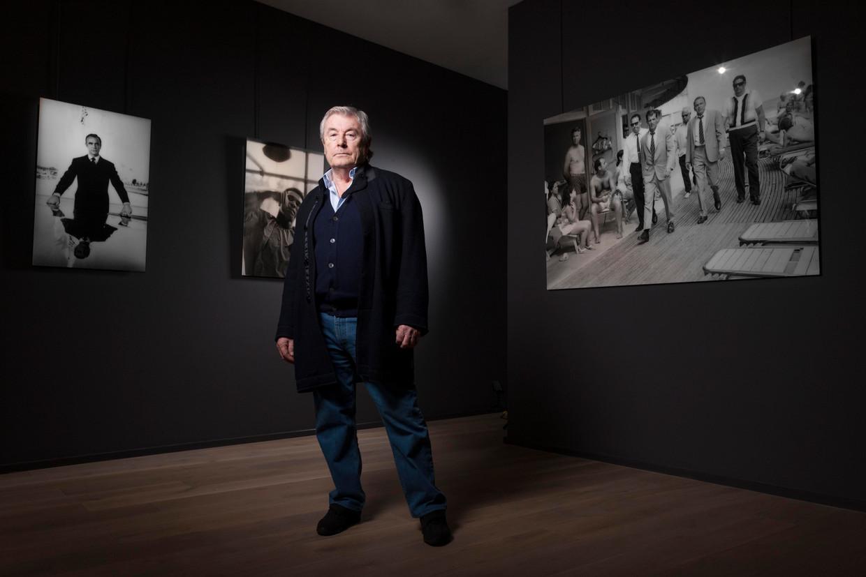 Terry O'Neill in de Alon Zakaim Fine Art Gallery in Londen. Beeld Hollandse Hoogte / Camera Press Ltd - geëmbed van De Volkskrant