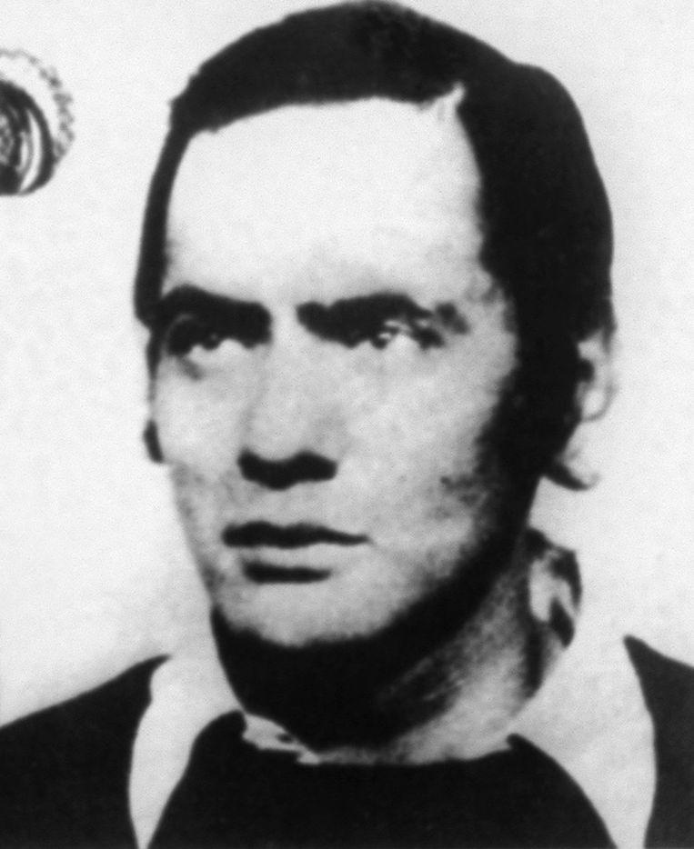 Andreas Baader, een van de leiders van de Rote Armee Fraktion. Beeld afp