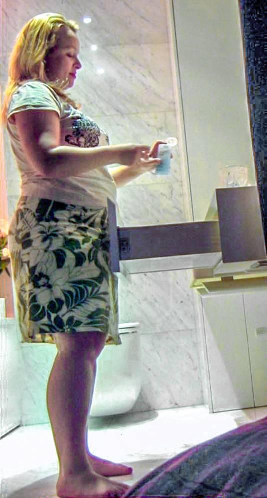 Tina Stokolska (39) woog in 2013 nog 83 kilogram (foto), drie jaar later is dat nog maar 51.