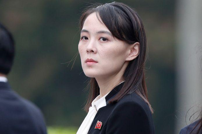 """Kim Yo-jong, de zus van Kim Jong-un en nu """"nummer twee"""" in Noord-Korea."""