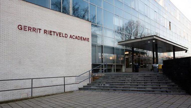 De leiding van de Gerrit Rietveld Academie besloot de bijeenkomst te schrappen. Beeld Gerrit Rietveld Academie