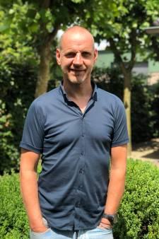 Ondernemer Van Gerven voor  citymarketing Bergeijk