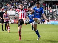 FC Den Bosch-verdediger Stefan Velkov is wellicht uitgeschakeld tot de winterstop