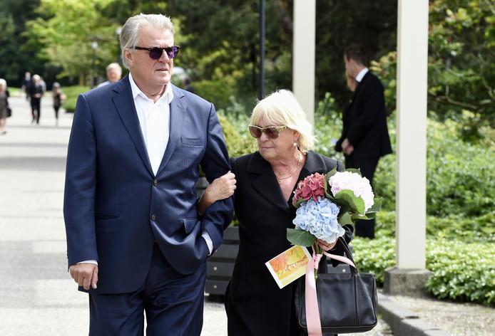 Jeroen Krabbé met zijn echtgenote.
