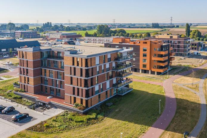 """Appartementencomplexen Houtblazer, Flageolet en Andante in Poortwijk III in Oud-Beijerland voldoen wél aan de eisen van senioren. """"Alleen waren deze razendsnel verkocht.''"""