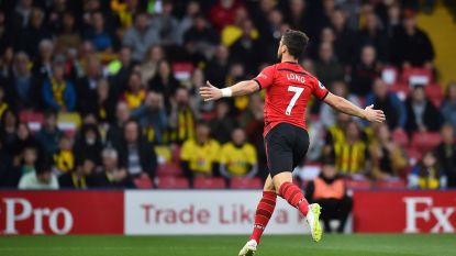 VIDEO. Lang moest Long niet wachten: Ier van Southampton scoorde gisteren snelste goal ooit in de Premier League