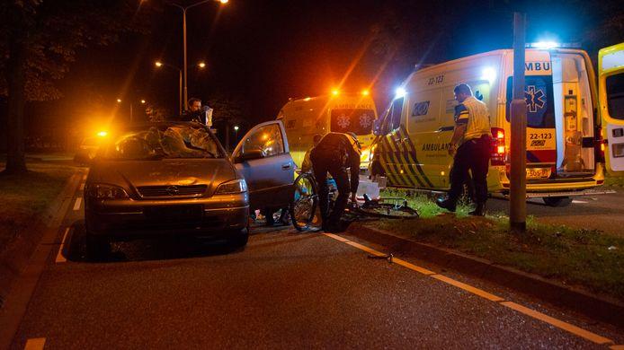Vrouw zwaargewond bij ongeluk in Deurne.