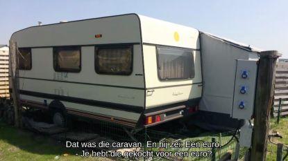 Justine en Philip gingen van jetsetleven op Mallorca naar caravan van 1 euro