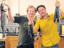 Bart van Olphen en Jamie Oliver.