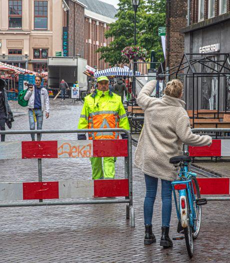Puzzelend op zoek naar de beste corona-inrichting van hartje Zwolle