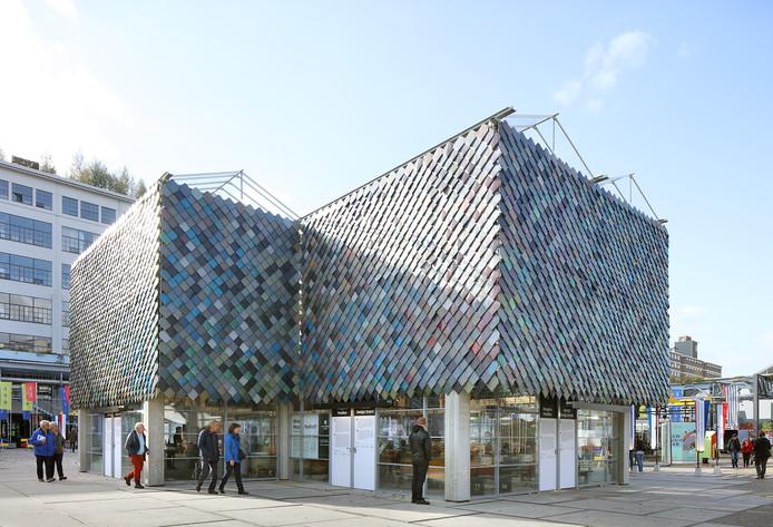 Het People's Pavilion van de Dutch Design Week 2017 - een ontwerp van SLA/Overtreders W - is genominieerd voor de Dirk Roosenburgprijs 2019 voor architecteuur van de gemeente Eindhoven.