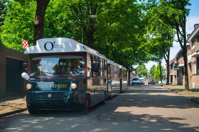 De Parel Express: een van de troeven van de toeristische sector die binnen het midden- en kleinbedrijf van Oisterwijk sterk is vertegenwoordigd.