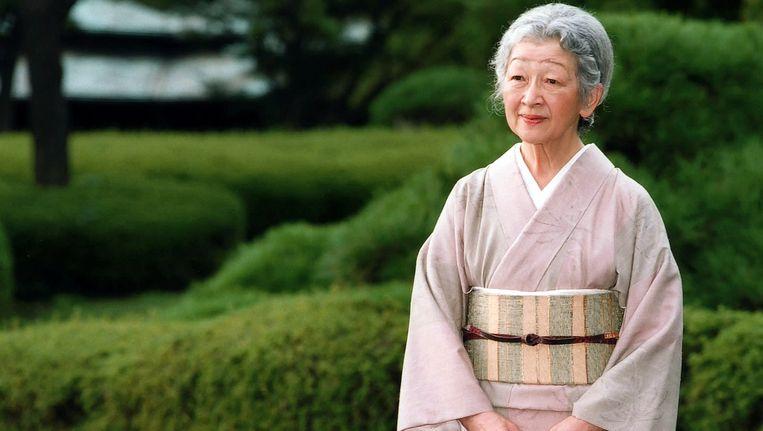 De Japanse keizerin Michiko