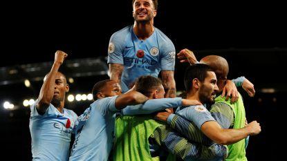 City wint makkelijk van flets United, Lukaku dwingt bij terugkeer op het veld wel meteen penalty af