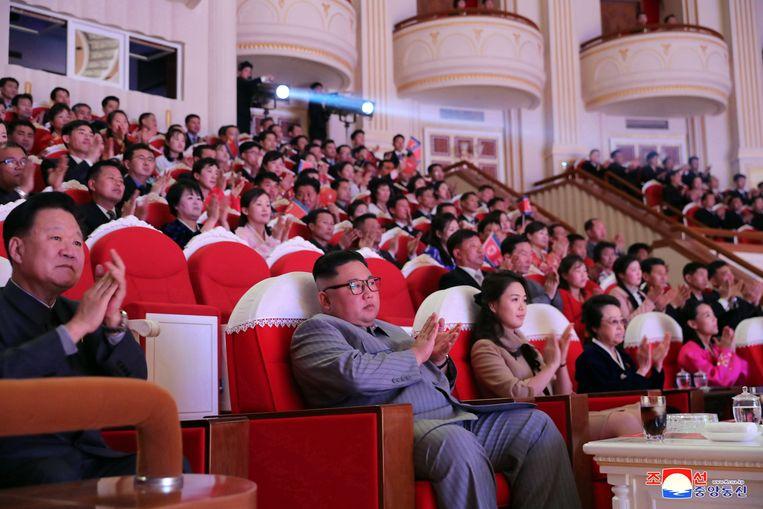 Zijn laatste publieke optreden, op 25 januari ter gelegenheid van Chinees Nieuwjaar.