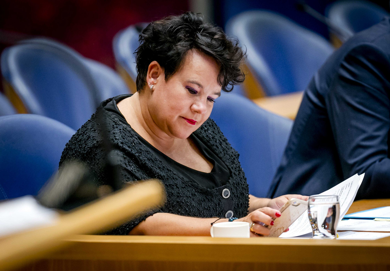 Staatssecretaris Sharon Dijksma van Infrastructuur en Milieu.