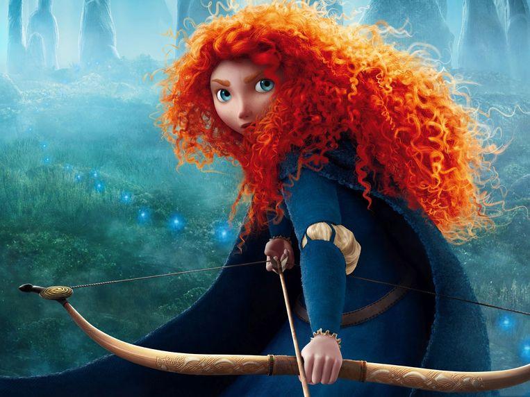 Merida is de stoerste prinses uit de Disney-geschiedenis.