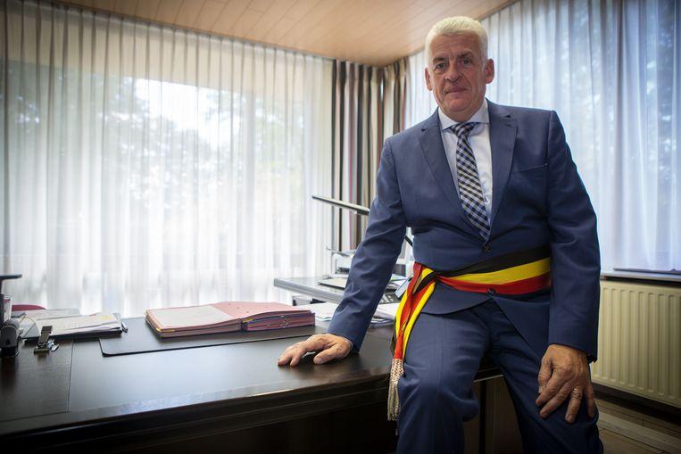 Burgemeester en acteur Walter De Donder.
