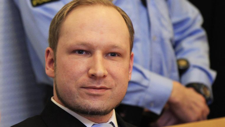 Anders Breivik Beeld EPA