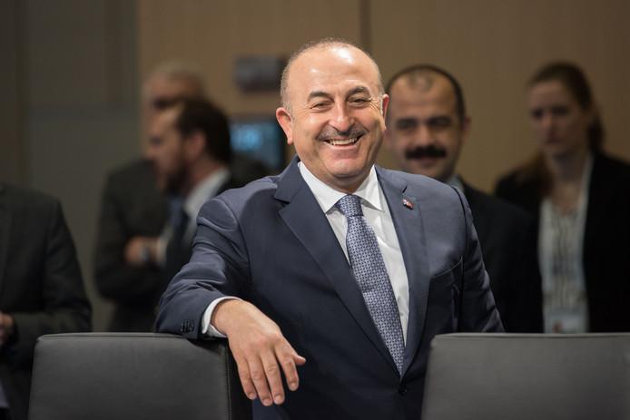 Mevlüt Cavusoglu, de Turkse minister van Buitenlandse Zaken