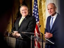 Pompeo: Zorgen bij ondernemers over Amerikaans sancties 'nergens voor nodig'