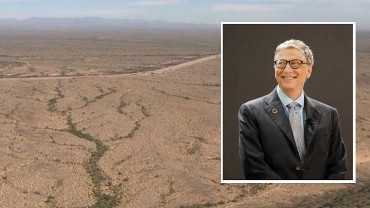 Hier moet de 'smart city' van Bill Gates verrijzen.