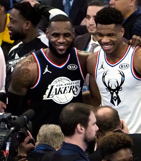 Team LeBron wint NBA All-Star Game