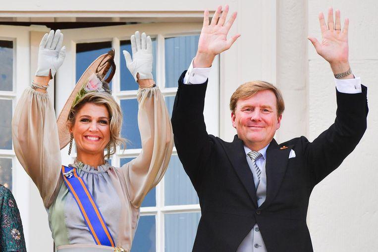Willem-Alexander en Máxima. Beeld anp