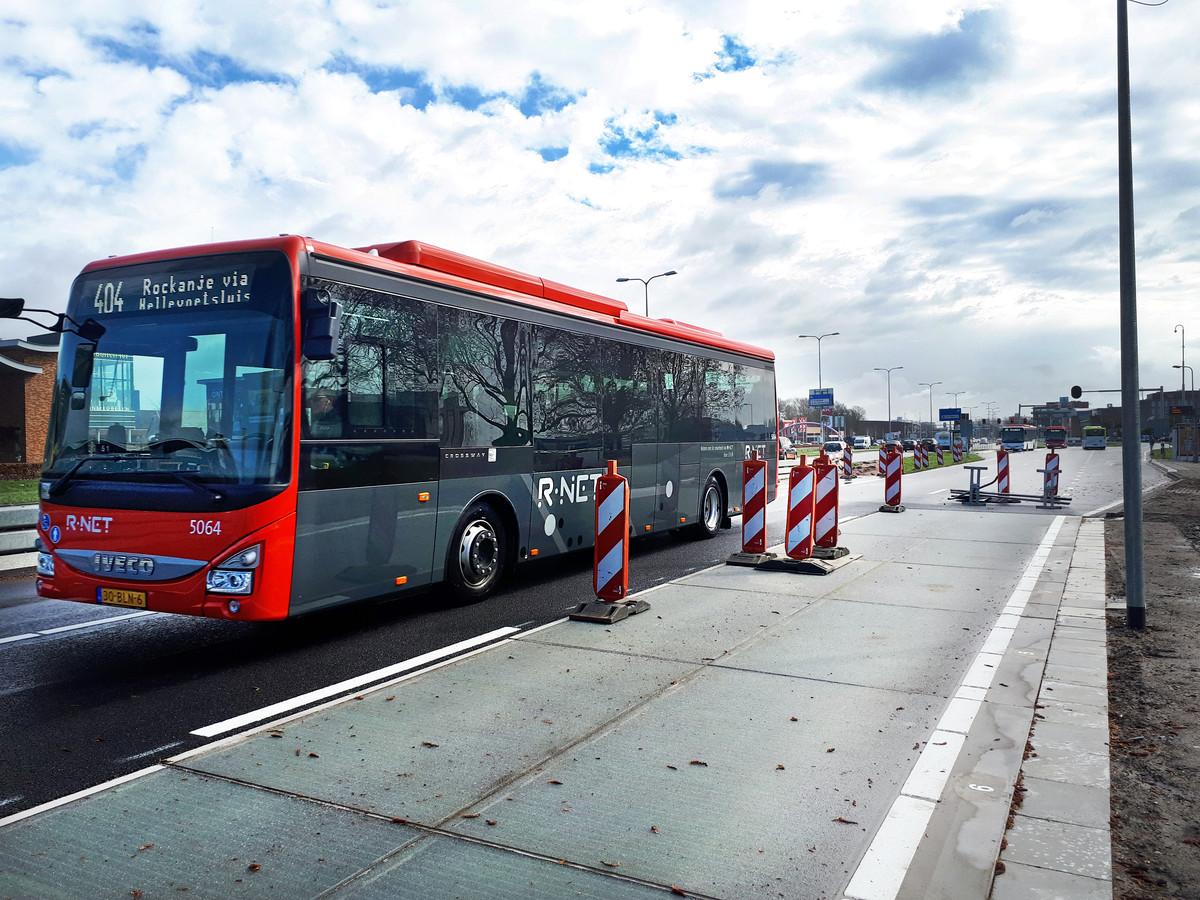 Bussen mogen niet meer over de SolarRoad in Spijkenisse