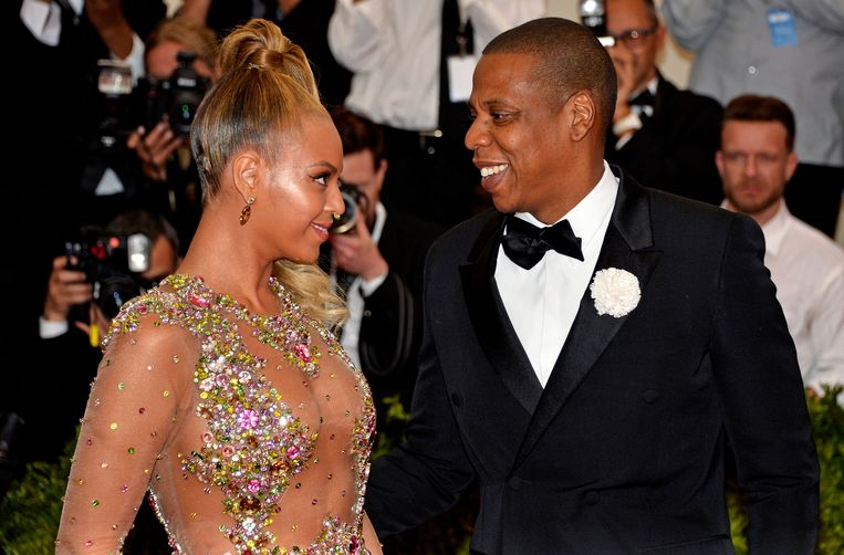 Beyoncé en JAY Z.