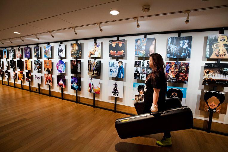 In de Beurs van Berlage is de expositie My Name Is Prince te zien. Beeld ANP