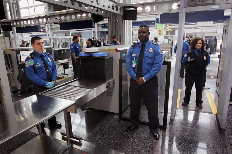 O Hare International Airport. Beeld Getty Images
