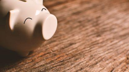 Belgen sparen gemiddeld 213 euro per maand