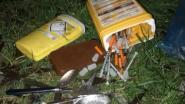 Sporen van druggebruik gevonden langs spoorweg in Landuitstraat