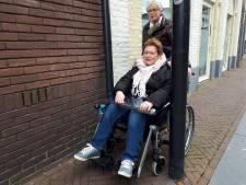 Koornstraat: Oeps, uw rolstoel kan hier niet door