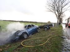 Gewonde bij eenzijdig ongeval in buitengebied van Hellendoorn